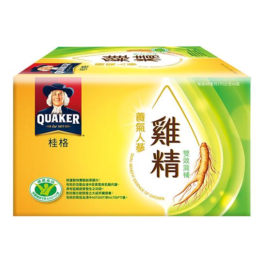 《桂格》養氣人蔘雞精(68ml*6入)