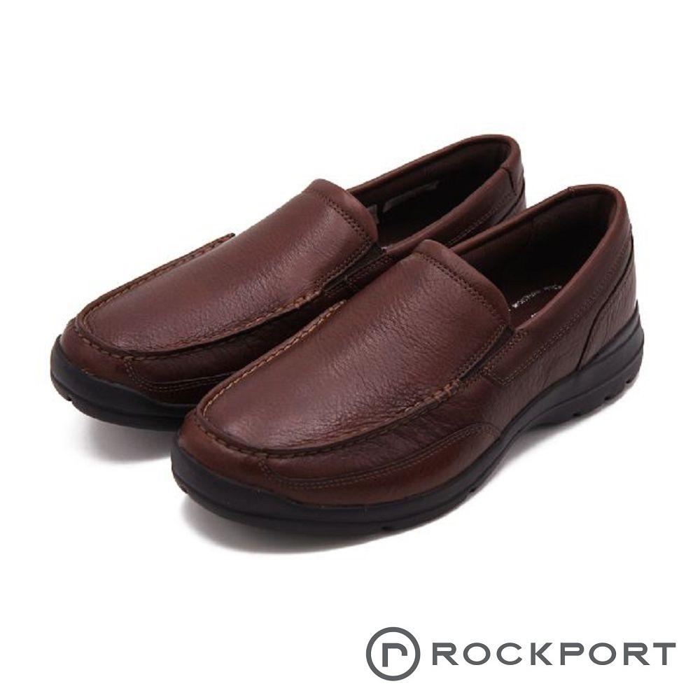 Rockport 防泼水系列 都会雅仕轻量休闲 男鞋-深咖(另有黑)
