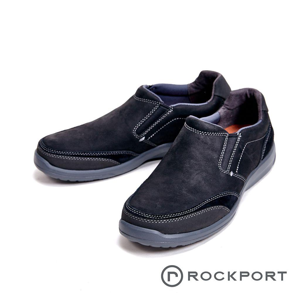 Rockport 城市玩家系列 EVA轻量底休闲 男鞋-黑(另有深咖)