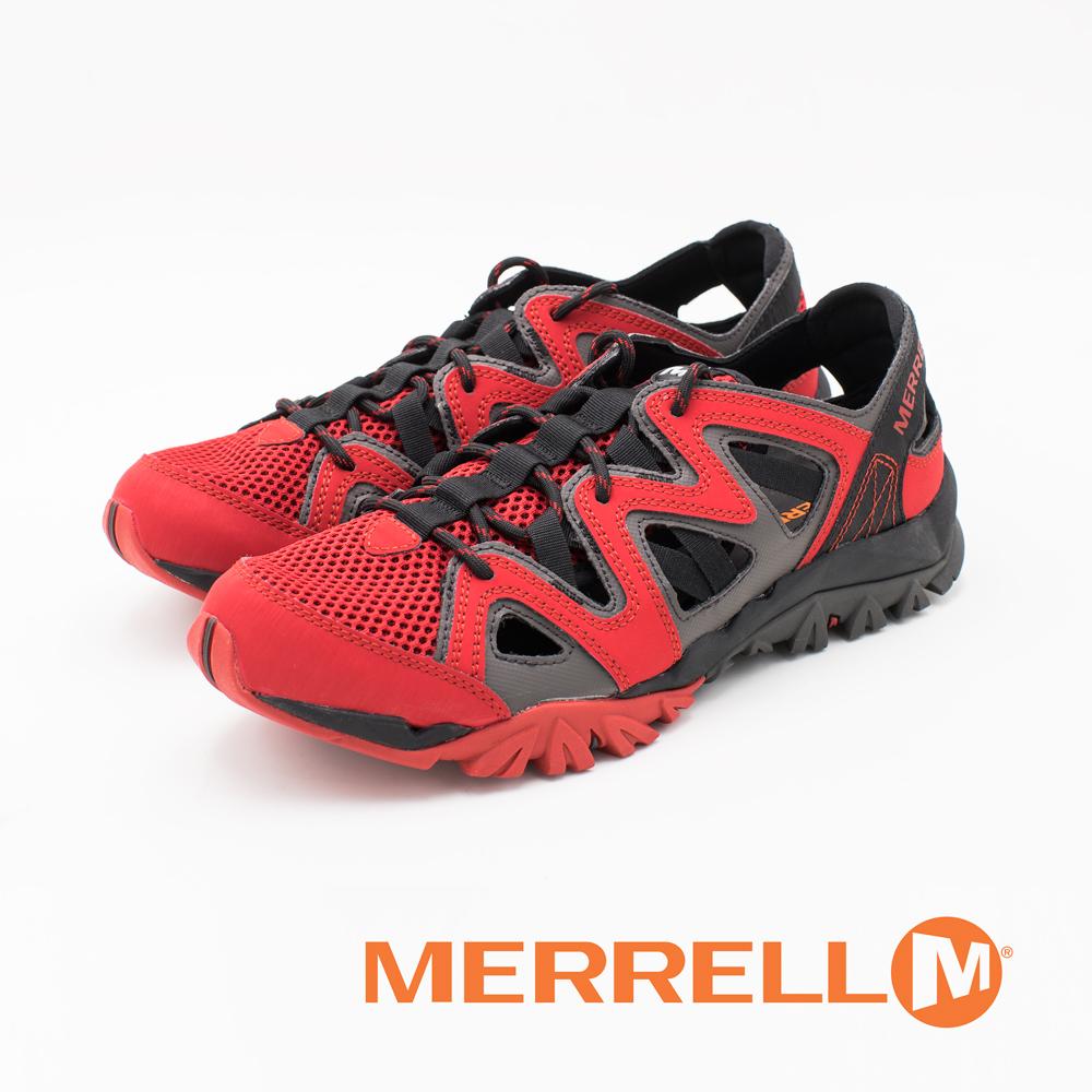 MERRELL (男) TETREX CREST WRAP水陆两栖健走鞋-红(另有灰黑)