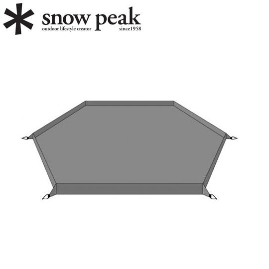 Snow Peak TM-616 LB6多功能基地天幕-專用地布