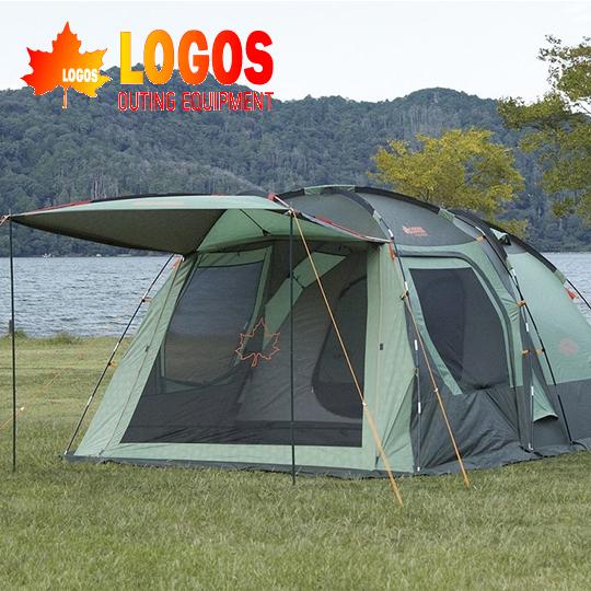 LOGOS #71809504 PANEL 綠楓雙背山4人帳L 套裝組(含帳篷、內墊、地布)