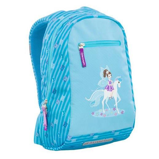 【Beckmann兒童護脊成長書包】Junior 10L Turquoise Pony