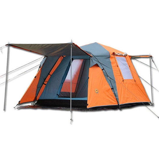 PUSH! 户外休闲登山用品 加大加宽式4人四季专业型帐篷