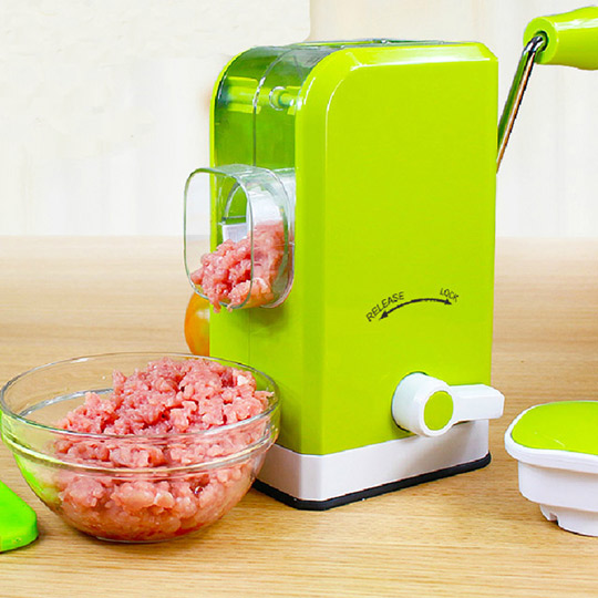 PUSH! 厨房用品六刃锋绞肉机 馅料处理机