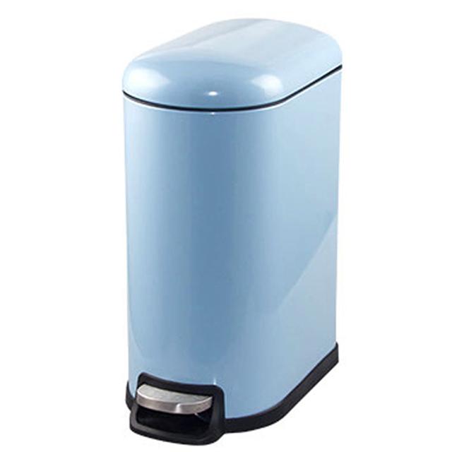 PUSH! 居家 用品 colourful液壓厚實鋼材可固定垃圾袋垃圾桶 置物桶 10升
