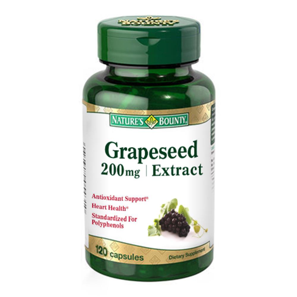 自然之寶葡萄籽菁萃膠囊食品
