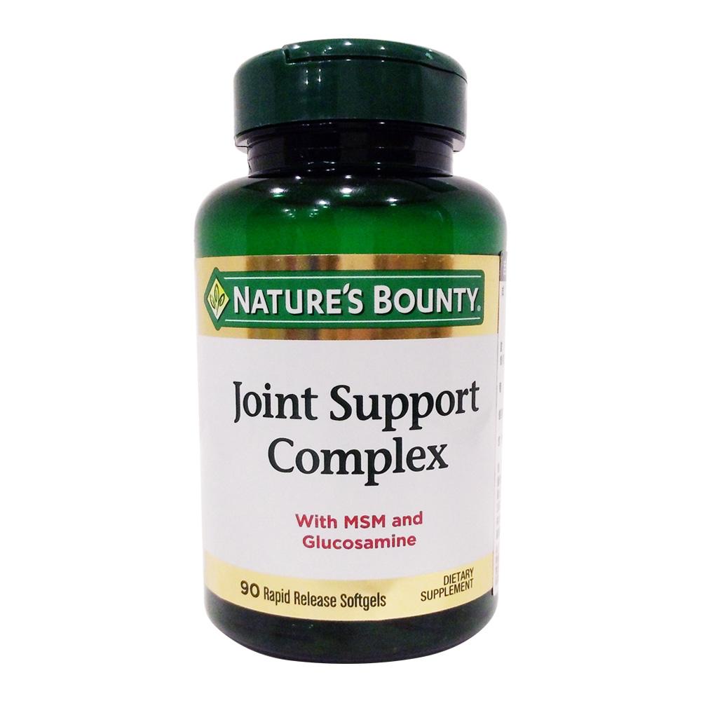 自然之宝葡萄糖胺MSM复合软胶囊 NATURE`S BOUNTY JOINT SUPPORT COMPLEX