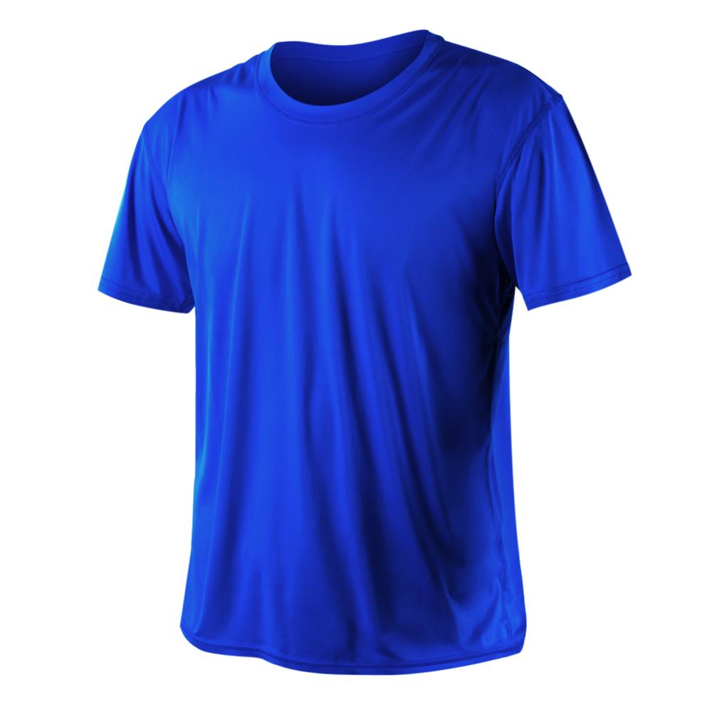 HODARLA 激膚無感衣 男女涼感短T恤-0秒吸排抗UV輕量吸濕排汗無著感 藍@3103913@