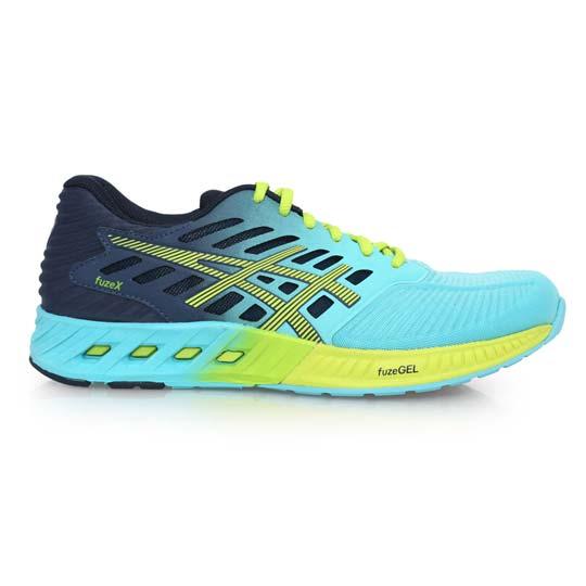 ASICS FUZEX 女慢跑鞋- 路跑 亞瑟士 健身 訓練 湖水藍丈青@T689N-4085@