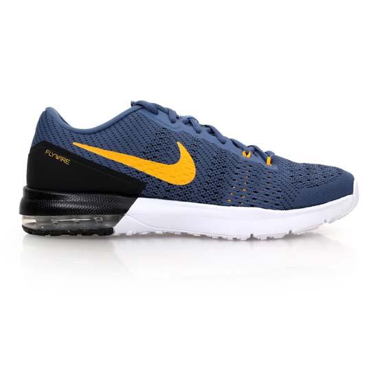 NIKE AIR MAX TYPHA 男慢跑鞋- 路跑 氣墊 編織 訓練 灰藍黃@820198470