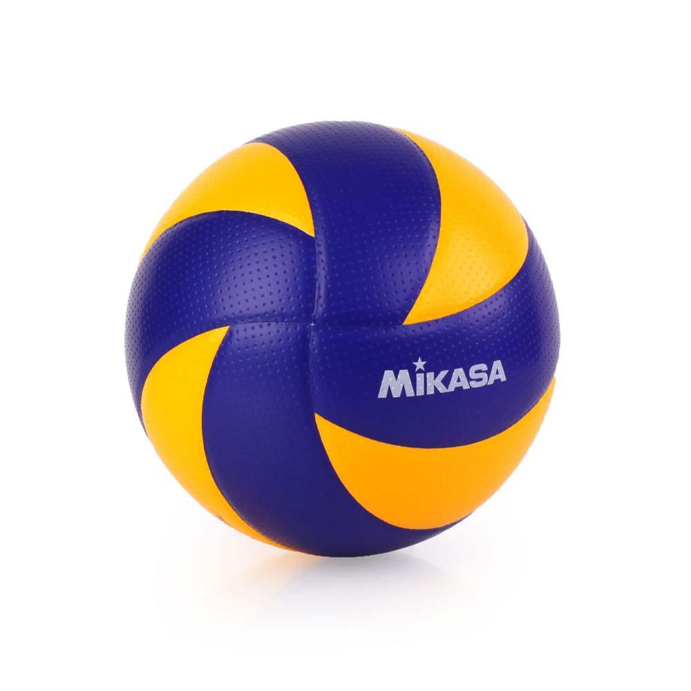 MIKASA 超纖皮製練習型排球MVA300 - 5號球 FIVB指定球 藍黃@MVA300@