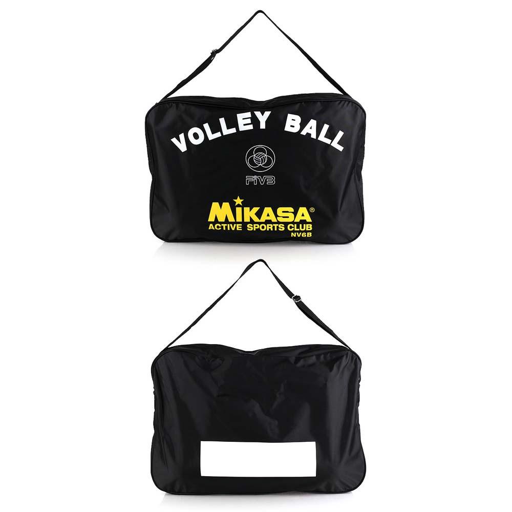 MIKASA 排球袋 ~6顆裝 手拿袋 手提袋 收納袋 黑黃白~NV6B~