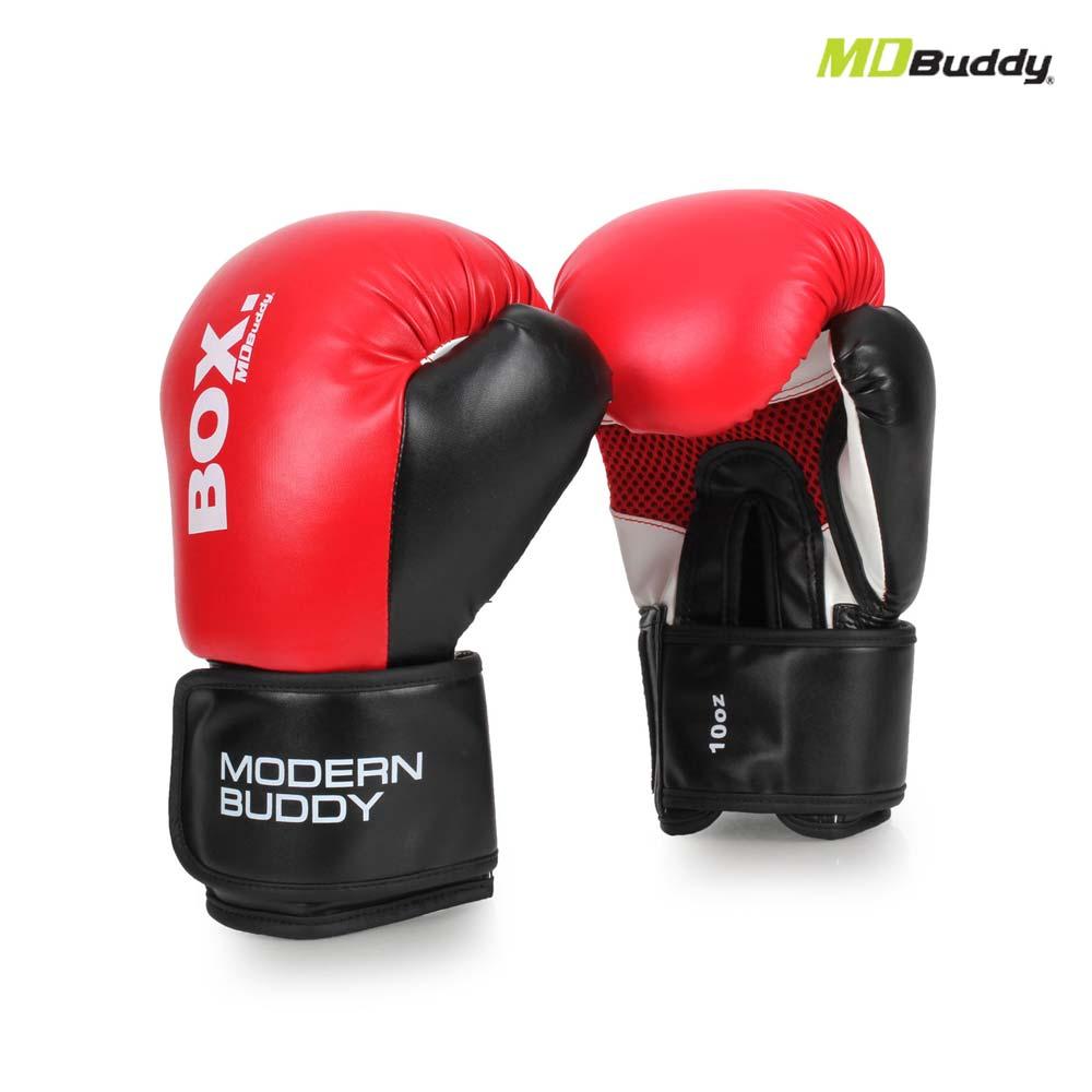 MDBuddy 10OZ 拳击手套-10盎司 健身 搏击 训练 随机@6025301@