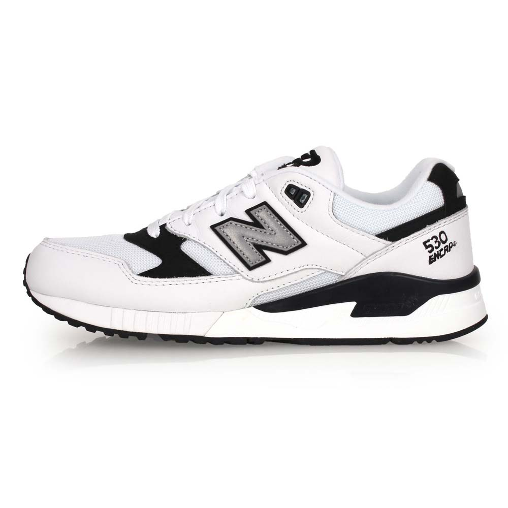 NEWBALANCE 530系列 男复古休闲鞋-D-NB N字鞋 白黑银@M530LGA@