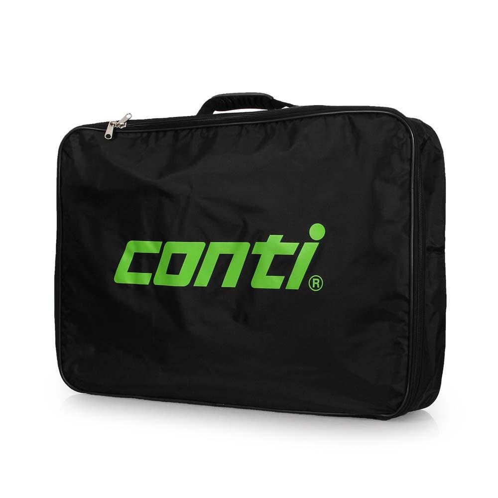 conti 詠冠多用途環保排球袋-5號球 6顆裝 手拿袋 手提袋 收納袋 球袋 黑草綠@A2500@