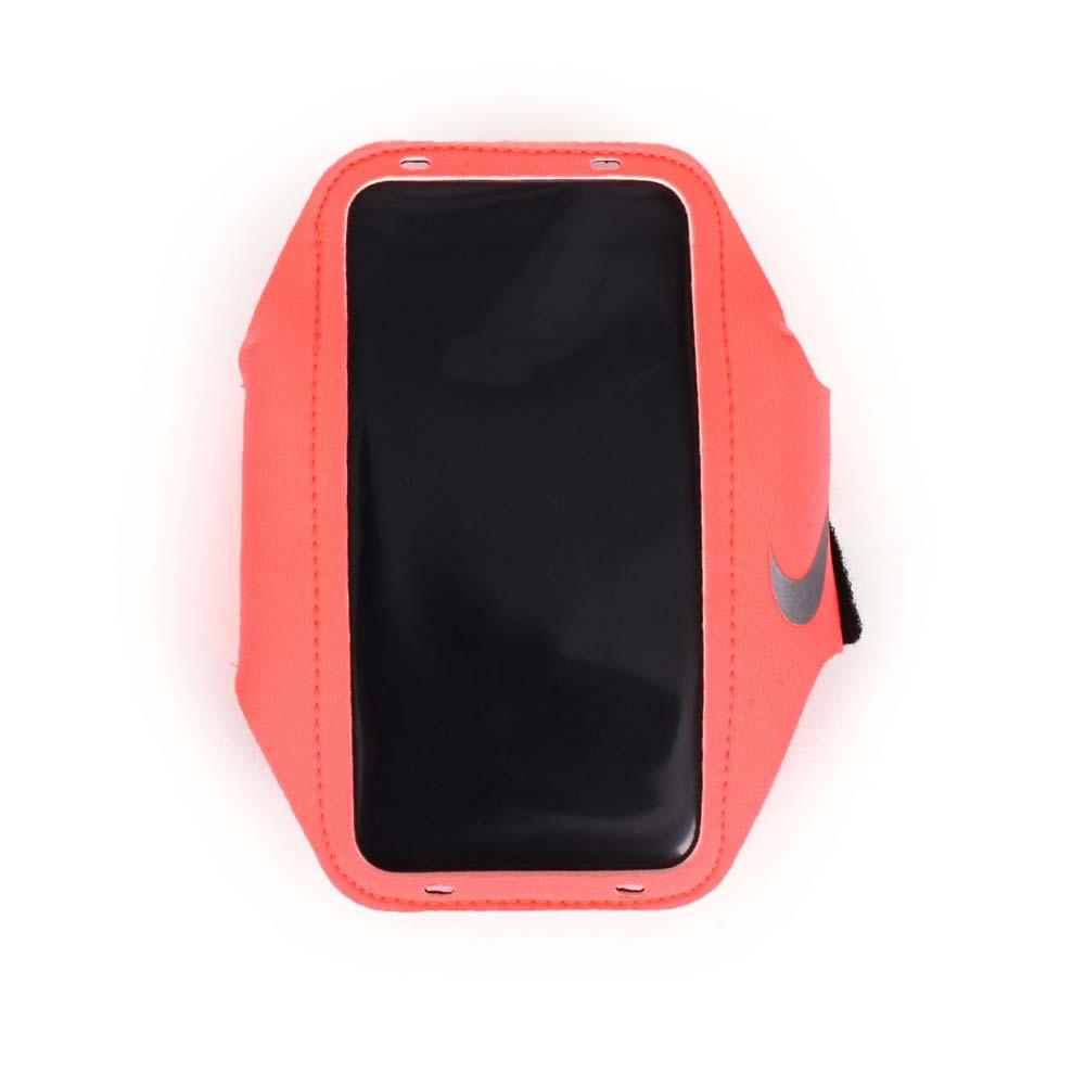 NIKE 輕量手機萬用臂包~慢跑 路跑 手機包 5.7吋螢幕 粉橘~NRN65634OS~