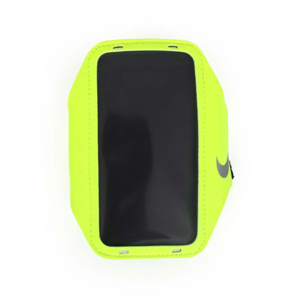 NIKE 輕量手機萬用臂包~慢跑 路跑 手機包 5.7吋螢幕 螢光黃~NRN65719OS~