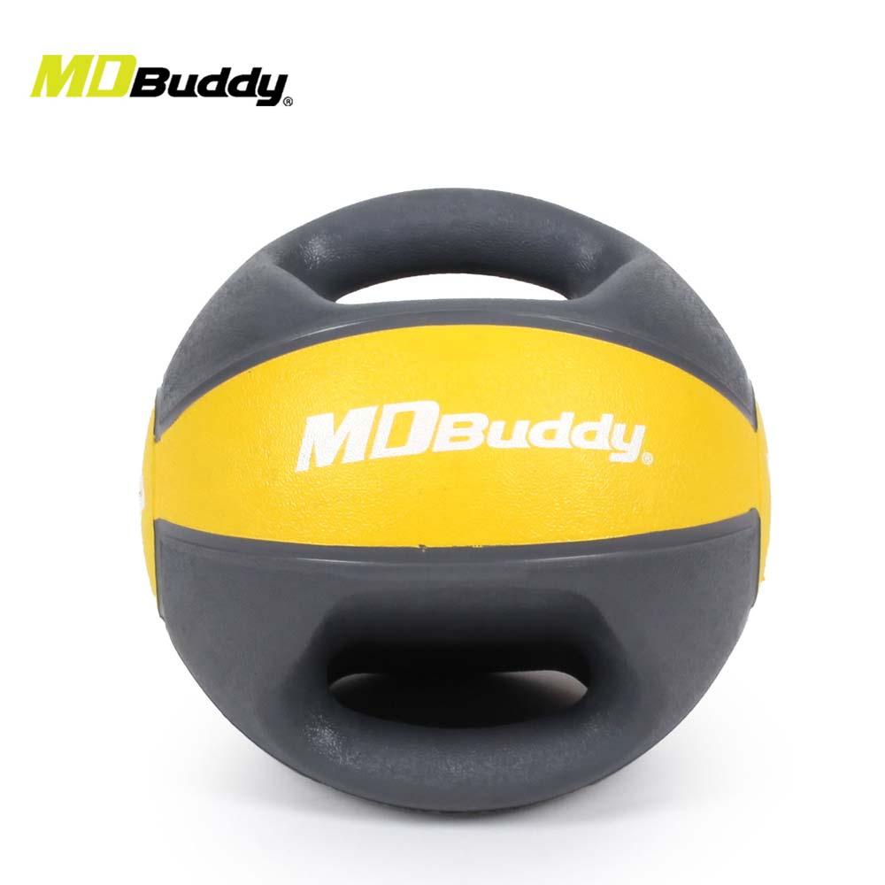 MDBuddy 把手式药球-4KG 重训 健身 随机@6026801@