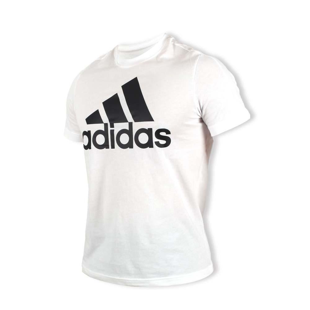 ADIDAS 男短袖上衣-T恤 短T 慢跑 路跑 训练 健身 爱迪达 白黑@CD4863@