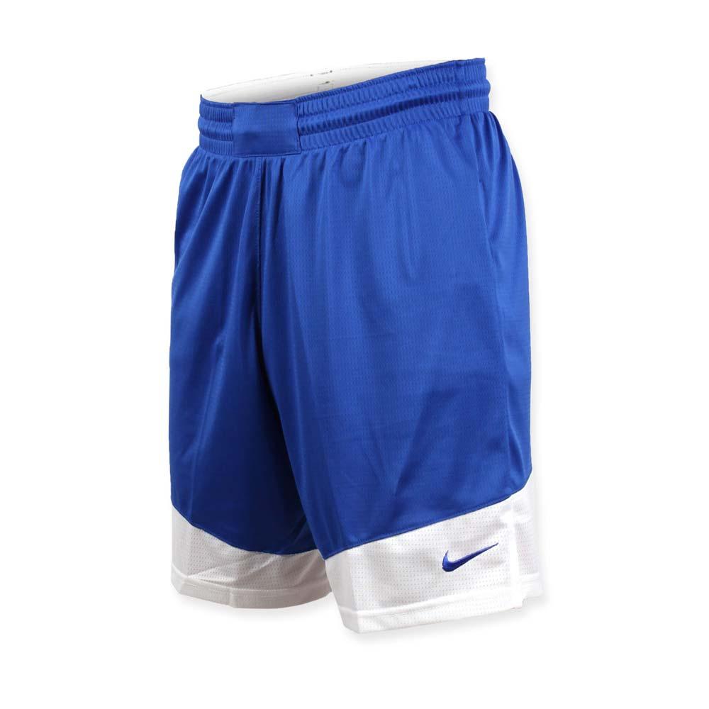 NIKE 男篮球针织短裤-路跑 慢跑 训练 五分裤 蓝白@867769494@