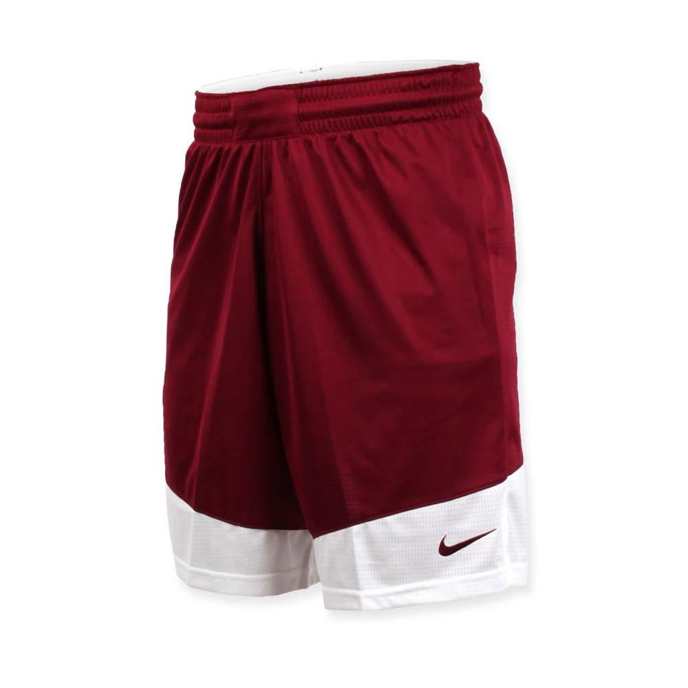 NIKE 男篮球针织短裤-路跑 慢跑 训练 五分裤 砖红@867769612@