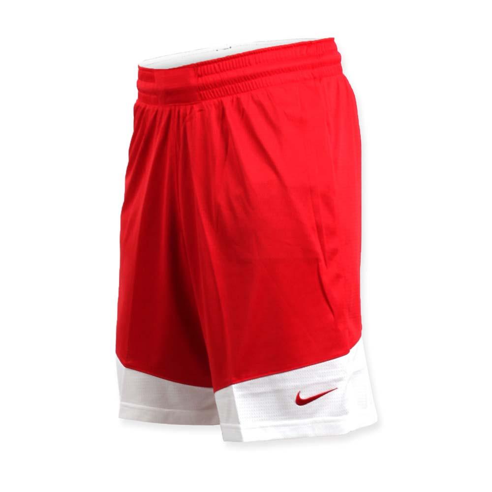 NIKE 男篮球针织短裤-路跑 慢跑 训练 五分裤 红白@867769658@