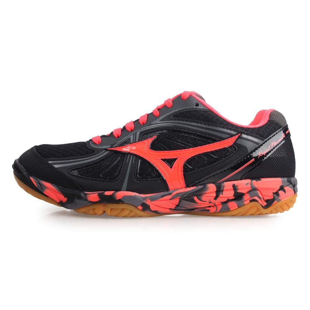 MIZUNO ROYAL PHOENIX 2 女排球鞋-美津浓 黑红@V1GA173066@