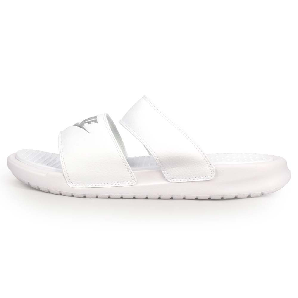 NIKE WMNS BENASSI DUO ULTRA SLIDE女凉拖鞋-戏水 白银@819717100@