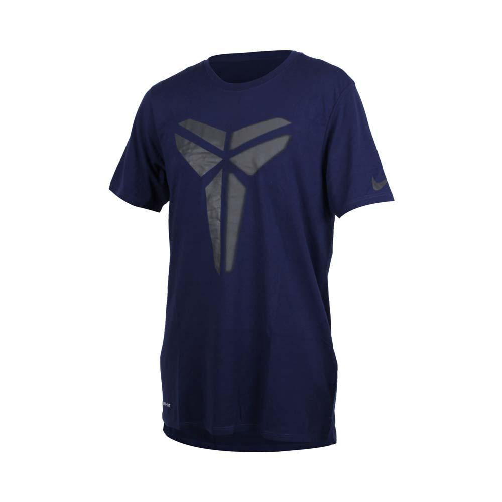 NIKE 男针织短袖上衣-T恤 短T 篮球 NBA KOBE BRYANT 柯比 丈青黑@882175429@