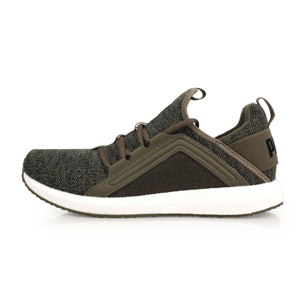 PUMA MEGA NRGY KNIT 男编织运动鞋-训练 路跑 慢跑 军绿@19037102@