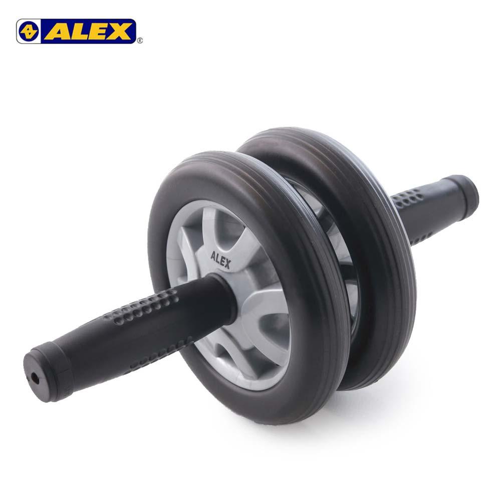 ALEX 双轮式滚轮轮直径14CM-健腹轮 健美轮 健身 肌肉训练 依卖场@B-21@