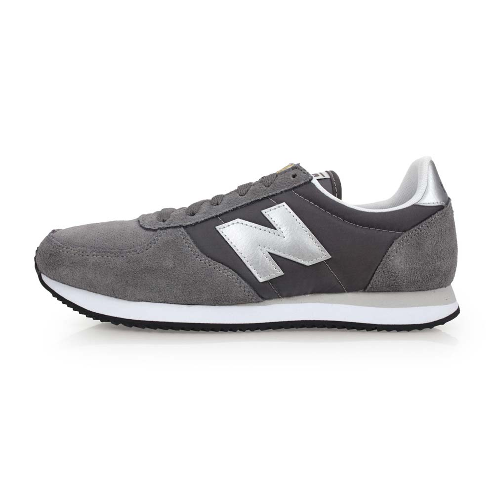 NEWBALANCE 男麂皮经典复刻鞋-D-休闲 NB N字鞋 灰银@U220GS@