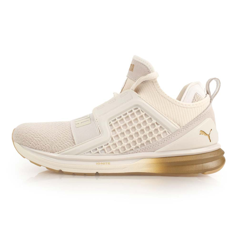 PUMA IGNITE LIMITLESS METAL WNS 女休闲运动鞋 白金@18998802@
