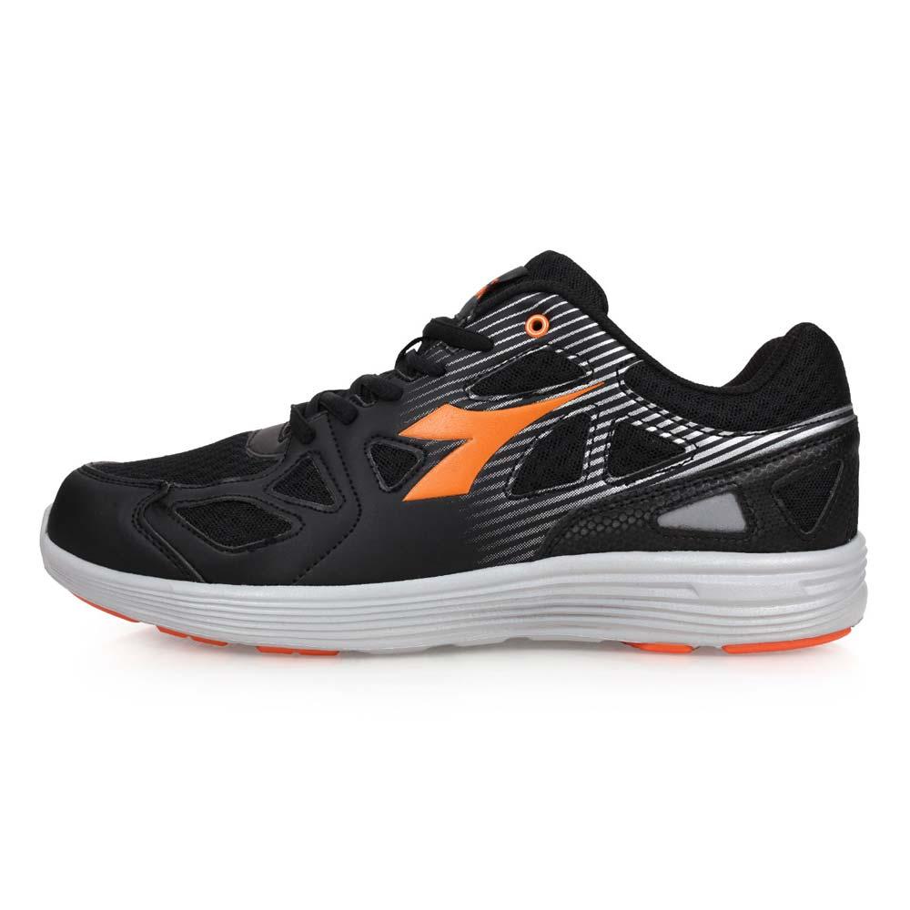 DIADORA 男慢跑鞋-路跑 黑橘@DA8AMR5790@