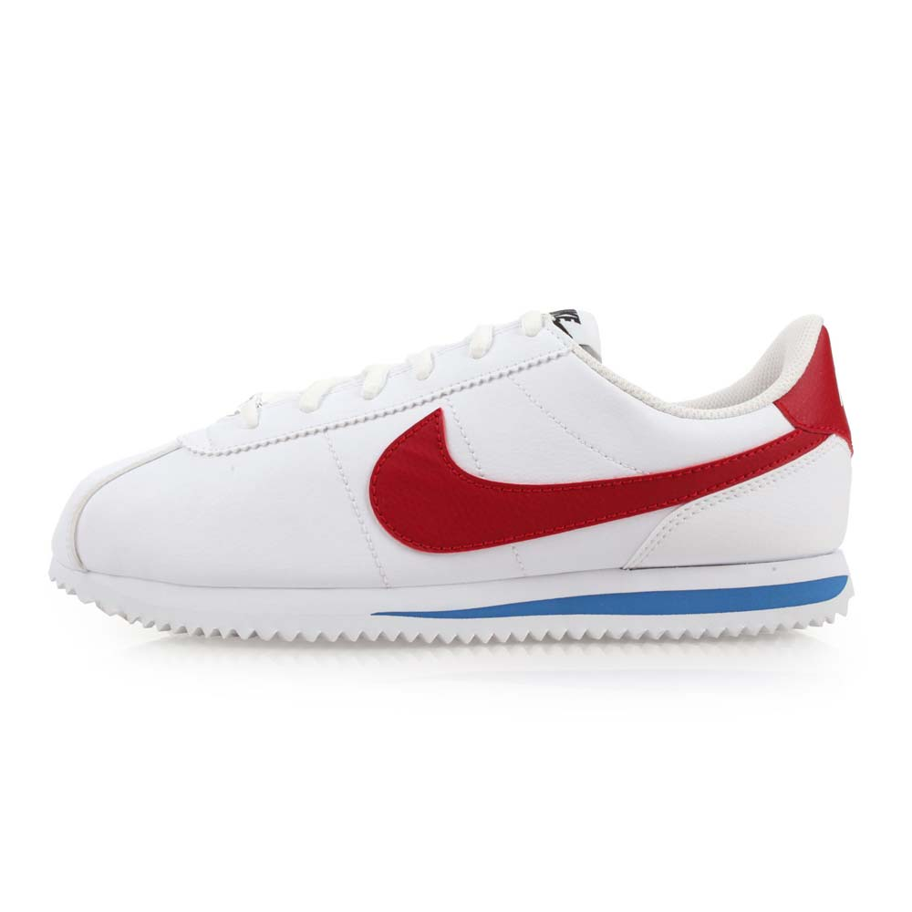 NIKE CORTEZ BASIC SLGS 女休闲鞋-慢跑 路跑 阿甘鞋 白红蓝@904764103@