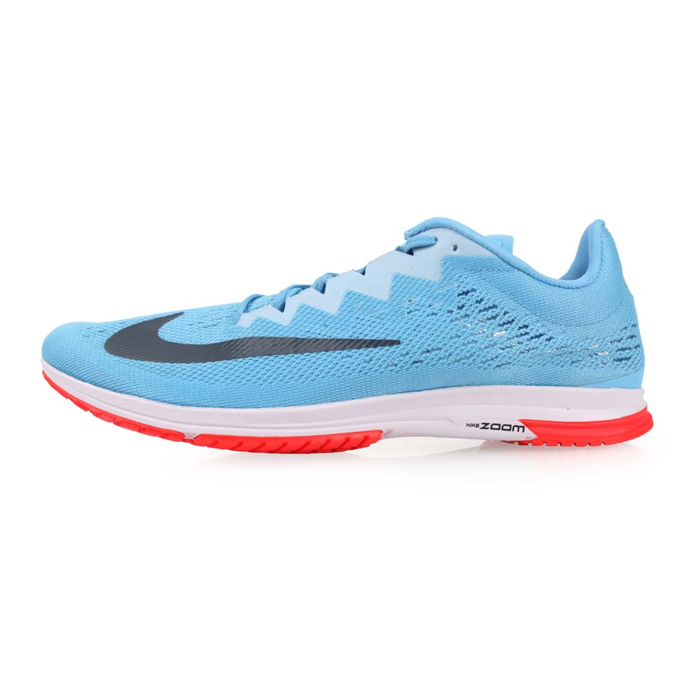 NIKE AIR ZOOM STREAK LT 4 男女路跑训练鞋-健身 路跑 天蓝深灰@924514406@