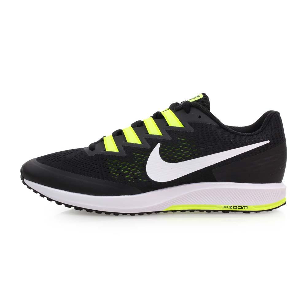 NIKE AIR ZOOM SPEED RIVAL 6 男女路跑鞋-慢跑 黑白萤光绿@880553017@