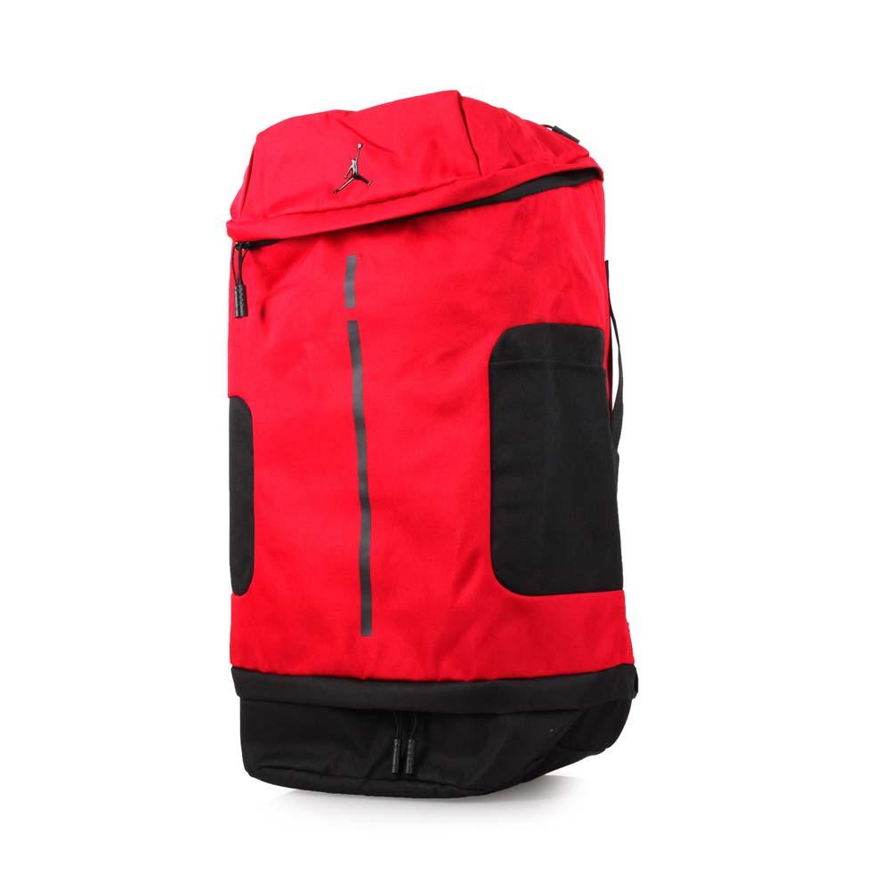 NIKE JORDAN 多功能后背包-飞人乔登 电脑包 旅行包 15吋笔电 红黑@9A0012-R78@