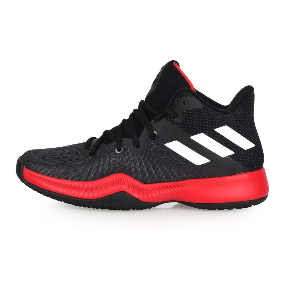 ADIDAS MAD BOUNCE 男篮球鞋-篮球 训练 高筒 爱迪达 黑红白@CQ0490@