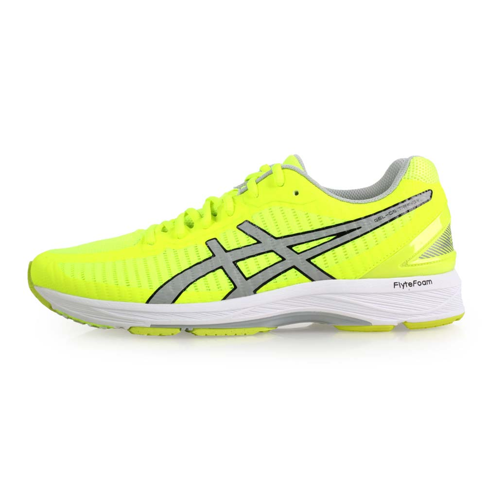 ASICS GEL-DS TRAINER 23 男路跑鞋-慢跑 亚瑟士 萤光黄灰@T818N-0796@