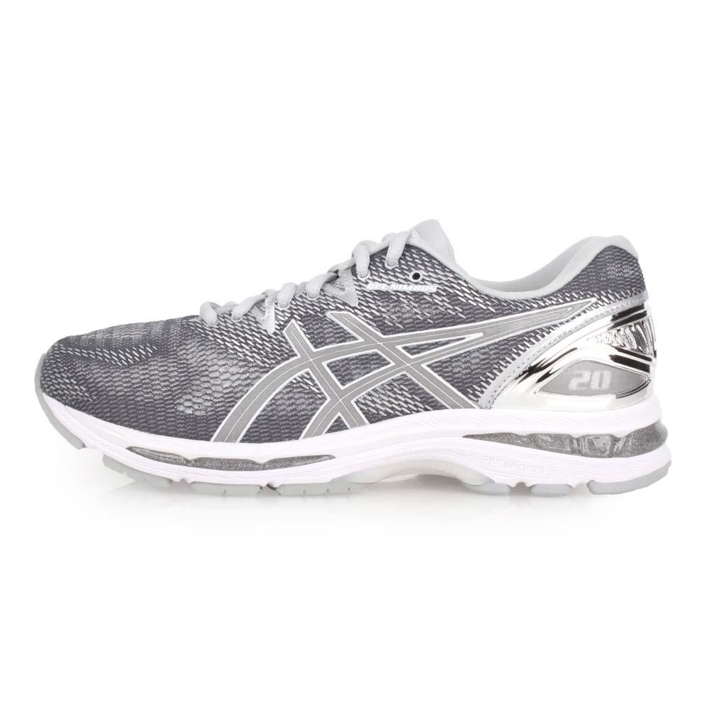 ASICS GEL-NIMBUS 20 PLATINUM 男慢跑鞋-路跑 亚瑟士 灰银白@T836N-9793@