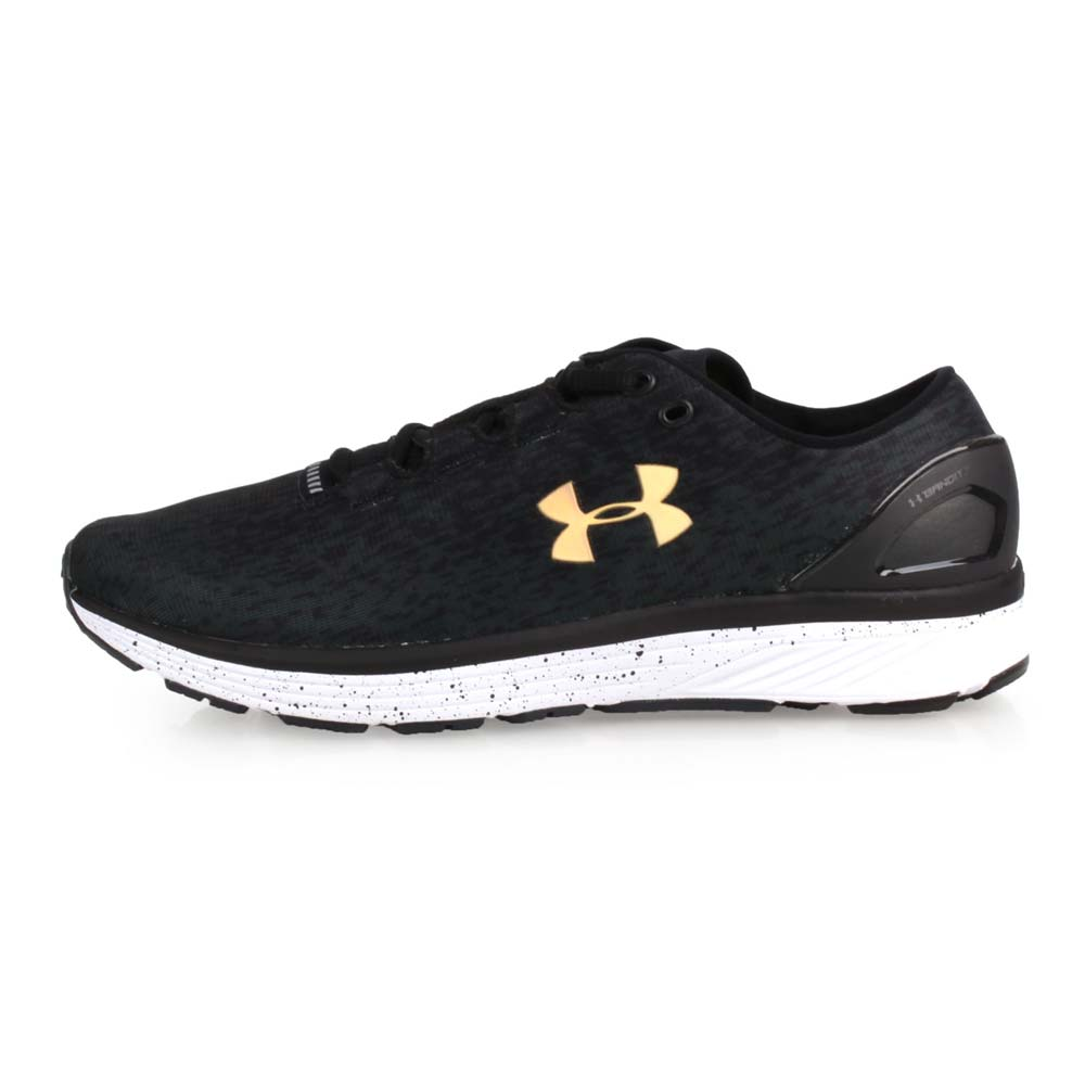 UNDER ARMOUR CHARGED BANDIT 3 OMBRE男慢跑鞋 黑金@3020119-001@