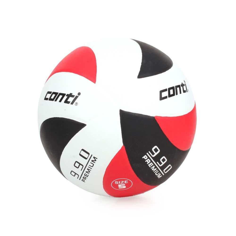 conti 5號頂級超世代橡膠排球 紅黑白@V990-5-WBKR@