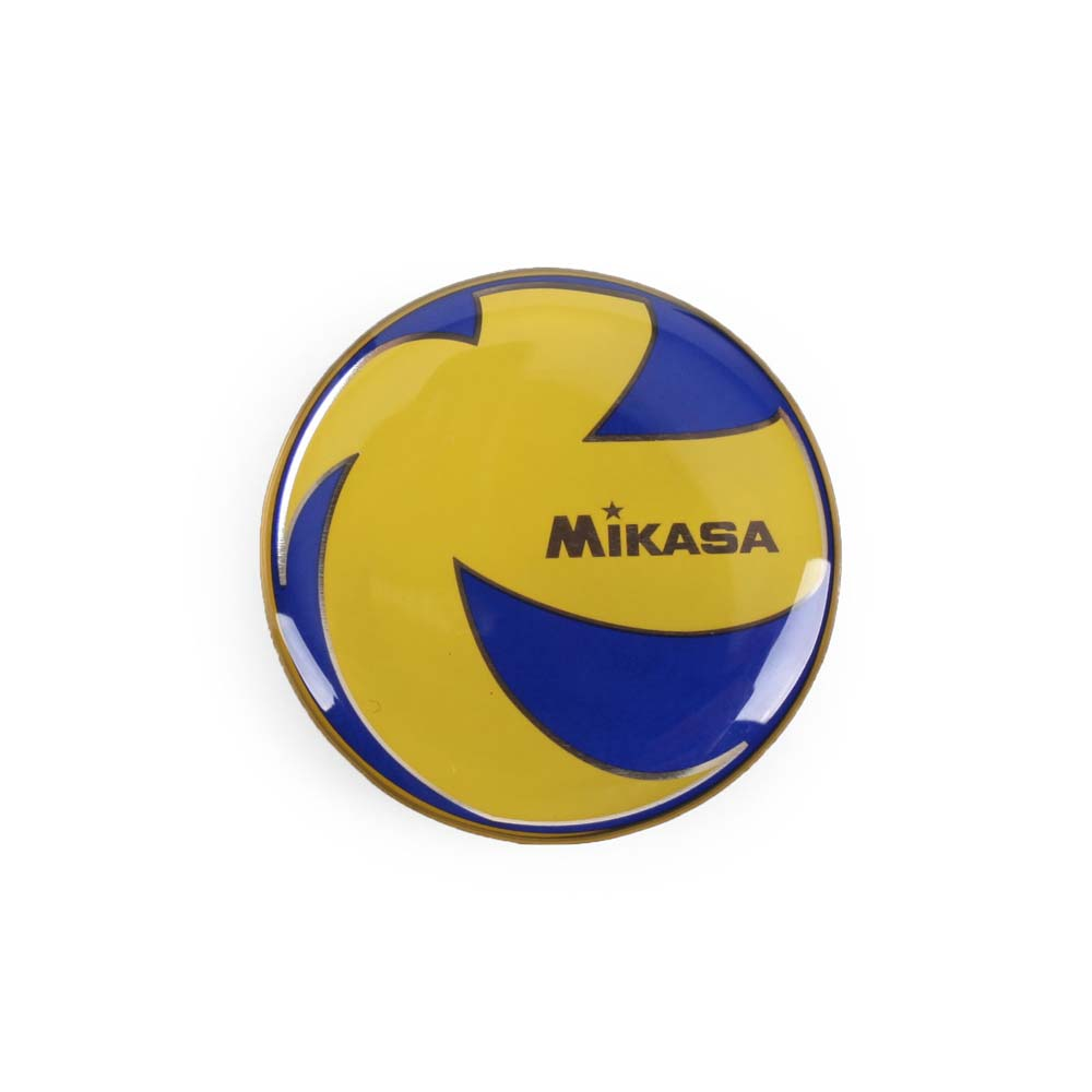 MIKASA 選邊幣-排球 藍黃@TCVA@
