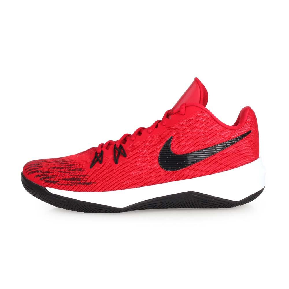 NIKE ZOOM EVIDENCE II EP 男篮球鞋-高筒 红黑白@908978600@
