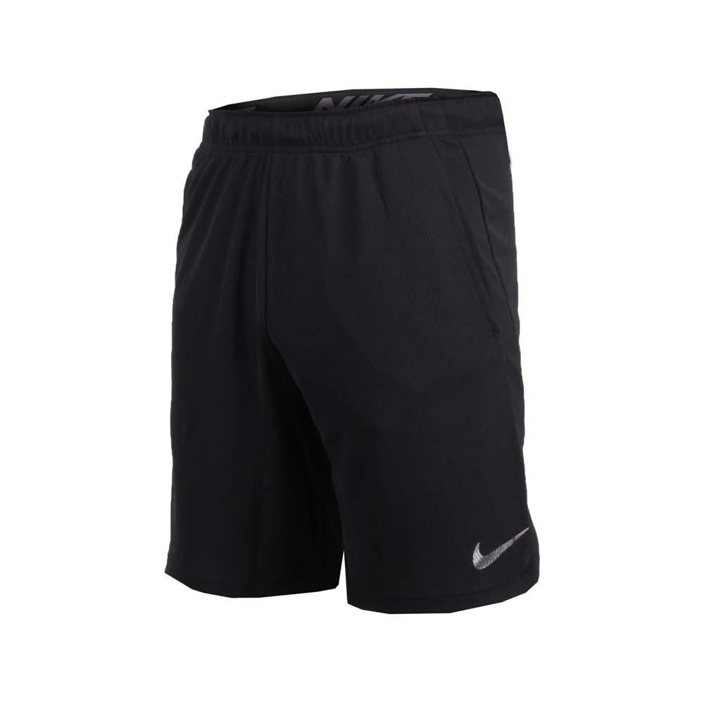 NIKE 男子针织短裤-慢跑 路跑 黑深灰@890812010@