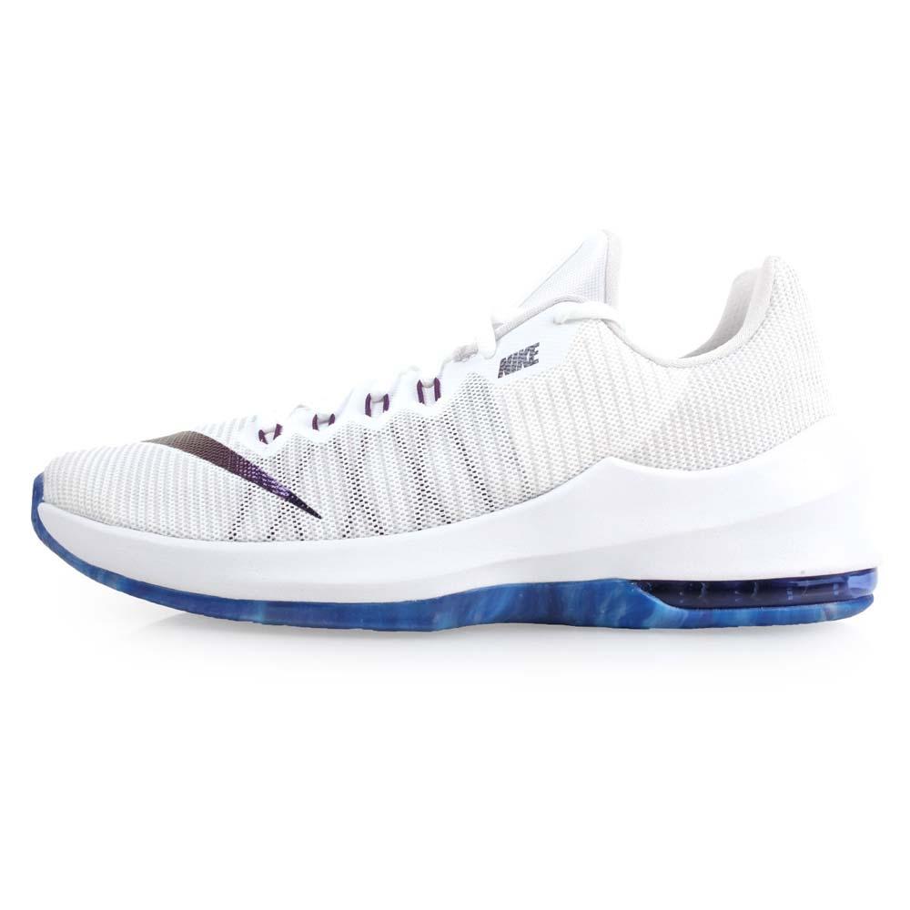 NIKE AIR MAX INFURIATE II PRM 男篮球鞋-篮球 气垫 白蓝@AJ1933140@