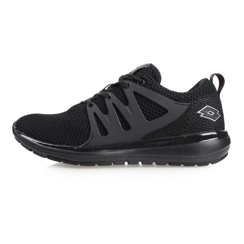 LOTTO 女潮流都会跑鞋-慢跑 路跑 黑@LT8AWR6650@