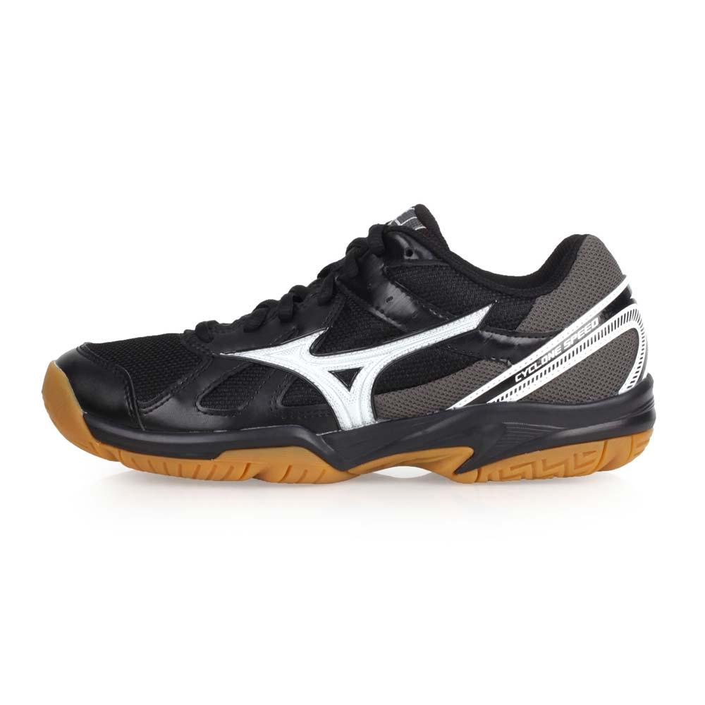MIZUNO CYCLONE SPEED 女排球鞋-美津浓 黑银@V1GC178091@
